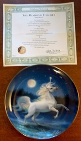 The Diamond Unicorn Collector Plates 2 in Lockport, Illinois