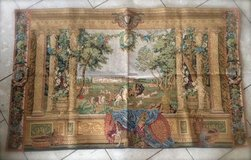 elegant Belgian tapestry with hunting scene in Spangdahlem, Germany