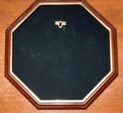Octagon Collector Plate holder for wall in Lockport, Illinois