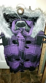 Purple / Black Hooded Ski Jacket in Fort Campbell, Kentucky