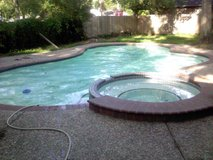 50 year old air force veteran and Pool Maintenance company owner will trade services in Kingwood, Texas