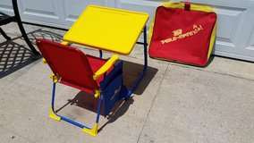 Adjustable / New / Folding Desk Chair Set in Clarksville, Tennessee