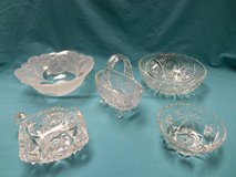 Etched Glass Bowls in Palatine, Illinois