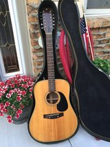 Pickador 12 String Acoustic/electric made by Martin in Yorkville, Illinois
