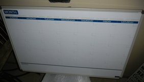 """LARGE Perpetual Calendar Dry Erase Board by FORAY 35"""" X 23"""" in Kingwood, Texas"""