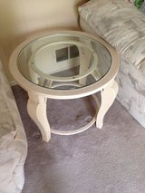 Lrg coffee table w/2 matching smaller tables in Algonquin, Illinois