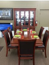 CHERRY 7PC DINETTE in Mountain Home, Idaho