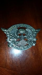Skull Harley Davidson Belt Buckle in Fort Campbell, Kentucky