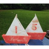 Pallet wood sailboat sail boat 2015 beach beachy wedding suppies in Camp Lejeune, North Carolina