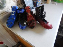 Under Armour football cleats in Glendale Heights, Illinois