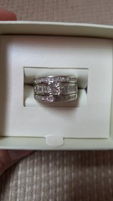 Dimond wedding ring set in Camp Pendleton, California