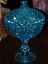 Vintage Glass Compote in DeKalb, Illinois