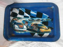 3 Vintage Nascar metal tv lap tray stand in Kingwood, Texas