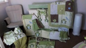 baby bedding/room set in Nellis AFB, Nevada