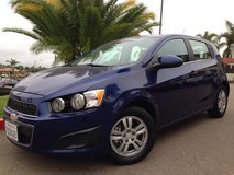 2013 Chevy Sonic LT in Camp Pendleton, California