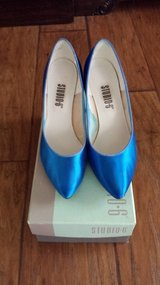 Blue Dyed Heels  Size 8 in Kingwood, Texas
