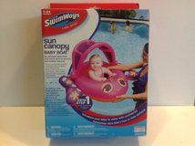SWIMWAYS SUN CANOPY BABY BOAT in Chicago, Illinois