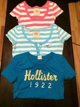 """Women's Pink Striped Hollister Shirts Size Small """"Top One Only"""" in Fort Campbell, Kentucky"""