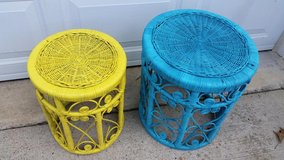 Blue / Yellow / 2 Piece Wicker Table Set in Fort Campbell, Kentucky