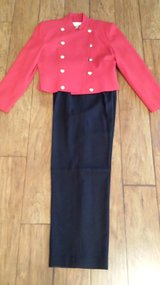 Red/Black Pants Suit, Size 6, Casual Corner in Kingwood, Texas