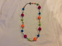 Colorful necklace in Kingwood, Texas
