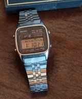 rare vintage seiko digital watch lcd a127-5010 in Los Angeles, California