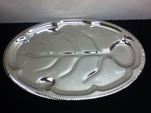 """Vintage Silver Platter For """"Beef And Bird"""" - NIP in Kingwood, Texas"""