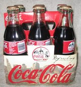 Mixed Lot of collectible Coca-cola bottles in Okinawa, Japan