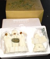 Dept 56  Three Tiny Trumpeters  -  set of 2 in Camp Lejeune, North Carolina