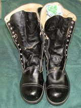 Vietnam Era Jump Combat Boots Never Worn in Fort Leonard Wood, Missouri