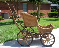 Whitney Steer-O-Matic Wicker Carriage in Macon, Georgia