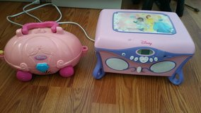 Disney's Princess Cd/Jewelry box & Princess Carriage Laptop in Fort Lewis, Washington