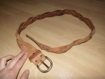 light brown REAL LEATHER belt in Ramstein, Germany