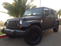 Jeep Wrangler Murdered Out in Camp Pendleton, California