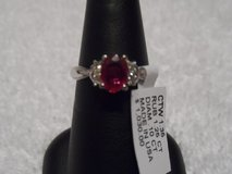 New Genuine Ruby and Diamond Gold Ring in Fort Benning, Georgia