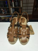 Brown Sandals in Okinawa, Japan