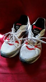 White / Red / Men's Reebok Tennis Shoes in Fort Campbell, Kentucky