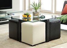 Coffee Table & Ottoman Set FREE DELIVERY in Huntington Beach, California