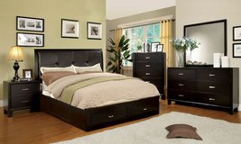 5PC Bedroom Set w Storage FREE DELIVERY in Huntington Beach, California