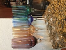 Bombay champagne flutes in Kingwood, Texas