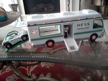 Model Hess Recreation Van with Dune Buggy and Motorcycle. In like new condition, in St. Louis, Missouri