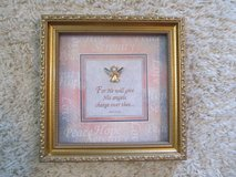 Angel Picture with saying in Kankakee, Illinois
