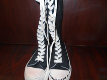 Teen Black & White Sneakers in Kingwood, Texas