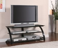glass Tv Stand FREE DELIVERY in Huntington Beach, California