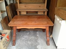 nice dining table, farmers stile or country stile in Heidelberg, GE