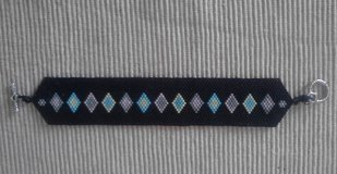 Handmade Beaded Bracelet in Fort Bliss, Texas
