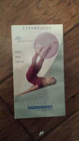 "VHS Tape Entitlted ""Balance Ball Fitness with Suzanne Deason"" in Houston, Texas"
