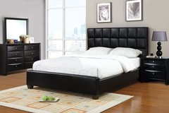Contemporary Black Bed Frame FREE DELIVERY in Huntington Beach, California