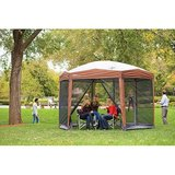Coleman 12-by-10-foot Hex Instant Screened Canopy/Gazebo in Glendale Heights, Illinois