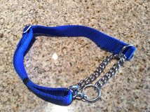 Collar for medium size dog with chain, 3/4 inch wide, new in Alamogordo, New Mexico